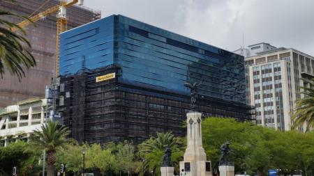 New Glass Facádes for Standard Bank and Telkom buildings